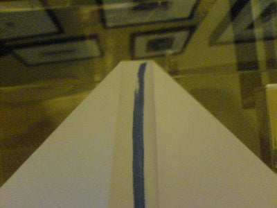 The First Steps Are Like a Bog Standard Paper Airplane