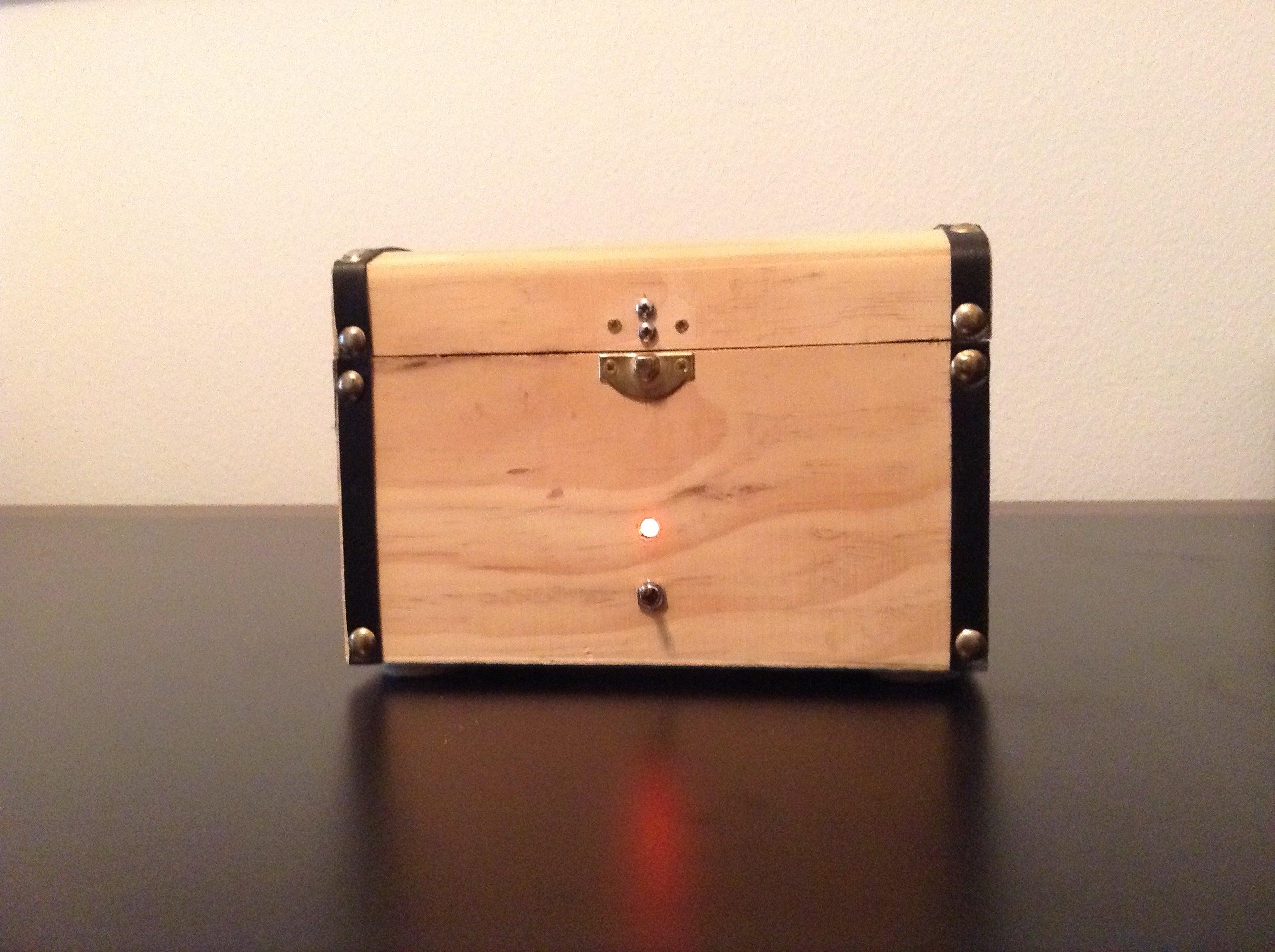 Arduino Knock-Knock Treasure Box