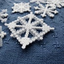 DIY Hama Snowflakes