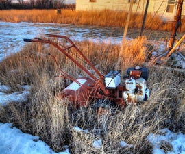 How to Resurrect and Fix a Long Abandoned Rototiller.