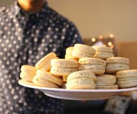Pistachio Macarons | Josh Pan
