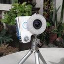 Action Camera RGB Ring Light