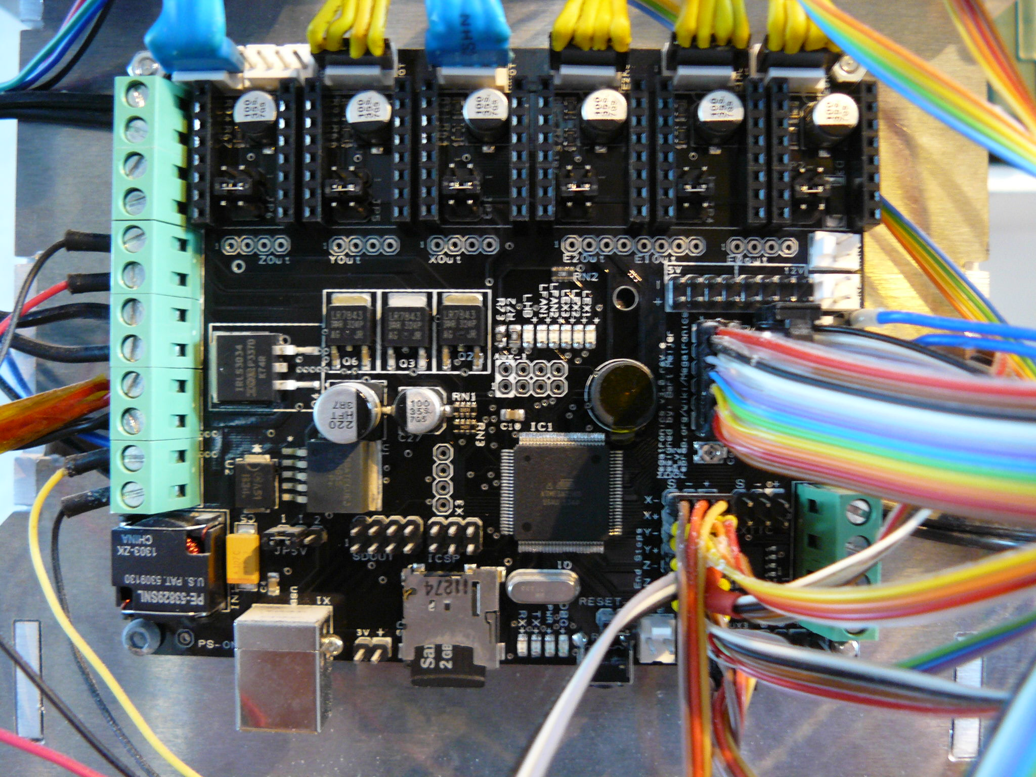 Picture of Wiring and Electronics
