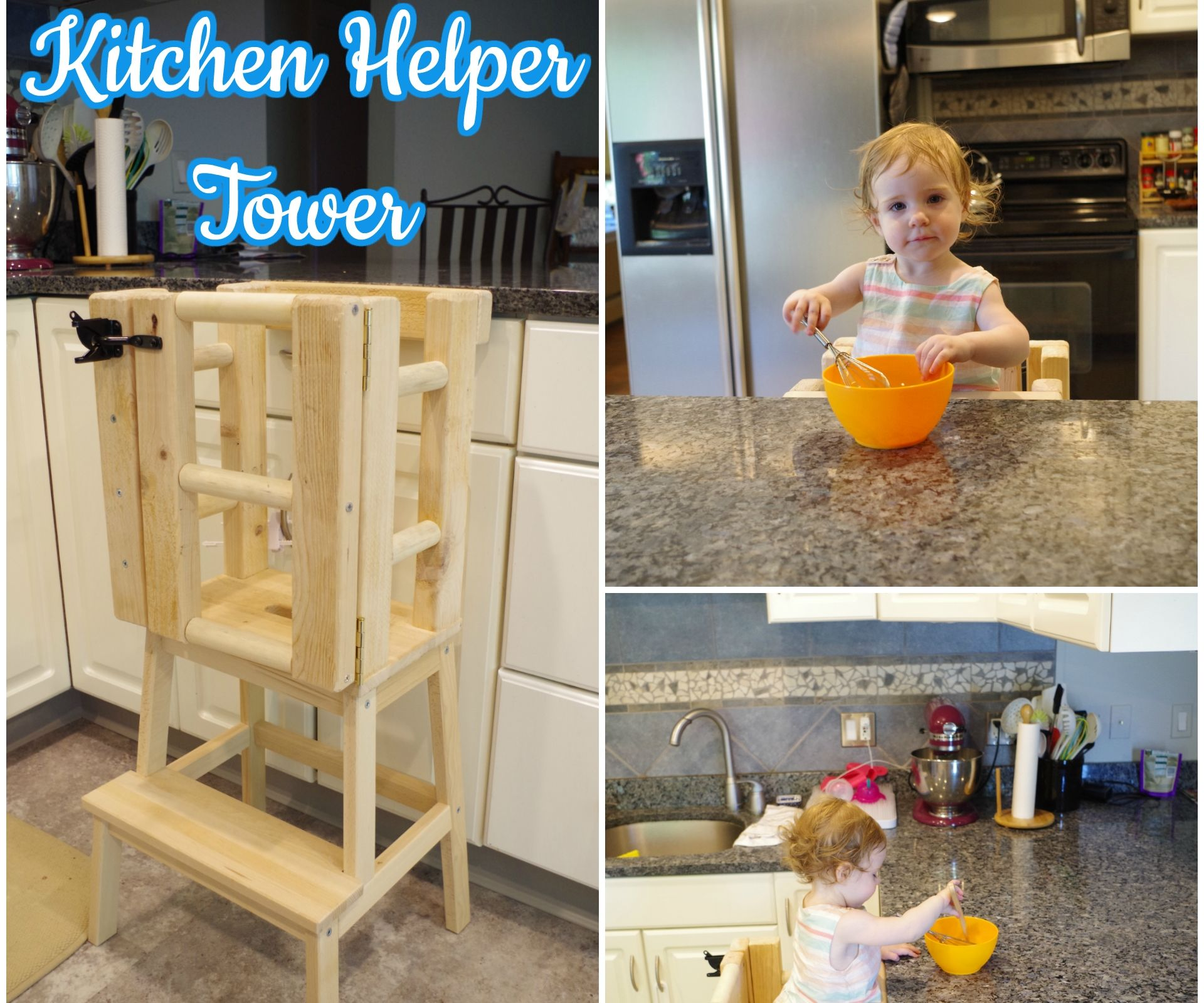 Admirable Kitchen Helper Tower 8 Steps With Pictures Gmtry Best Dining Table And Chair Ideas Images Gmtryco