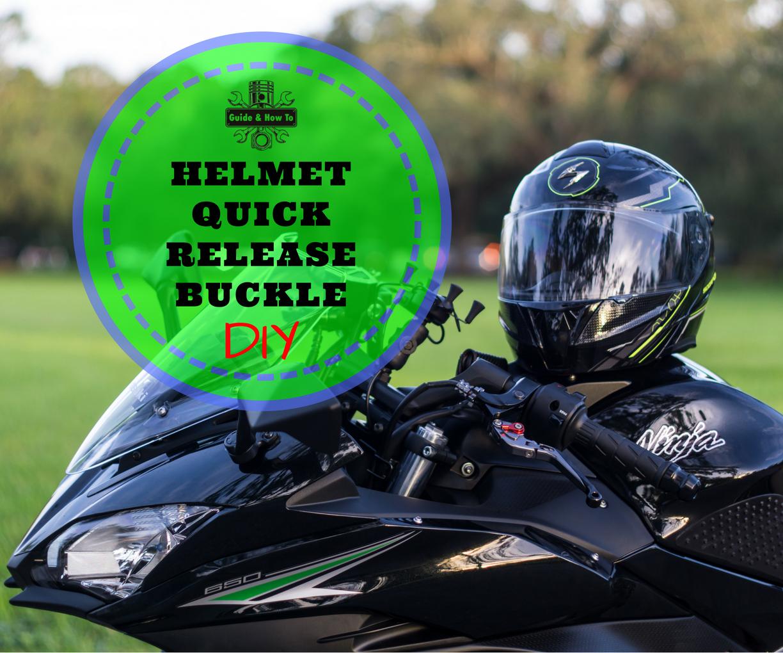 Echo Blue Motorcycle//Snowmobile Helmet Strap Quick Release Buckle DOT//Snell