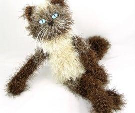 Camille  - custom crocheted kitty