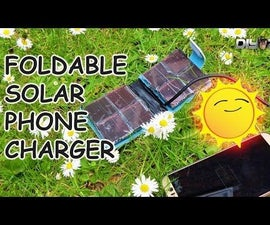 SOLAR PHONE CHARGER WALLET