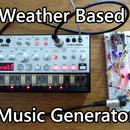 Weather Based Music Generator (ESP8266 Based Midi Generator)