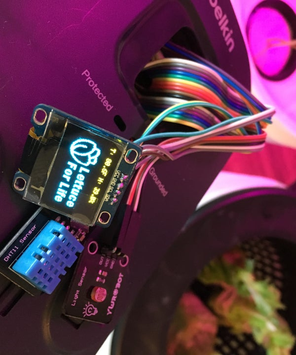 Lettuce for Life - Arduino 101 Based Automated Controller for Hydroponics, Aeroponics, Aquaponics, Etc.  Intel Curie
