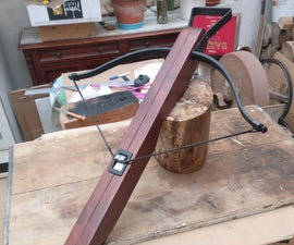 Medieval Crossbow From an Old Joist