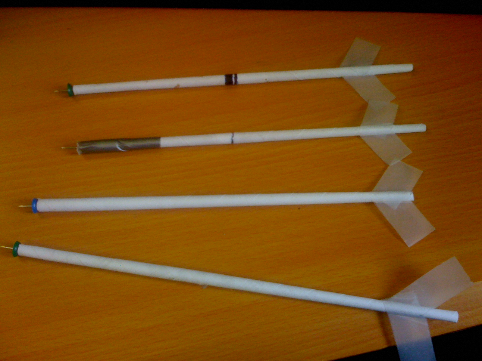 Picture of Making Darts From Office Supplies