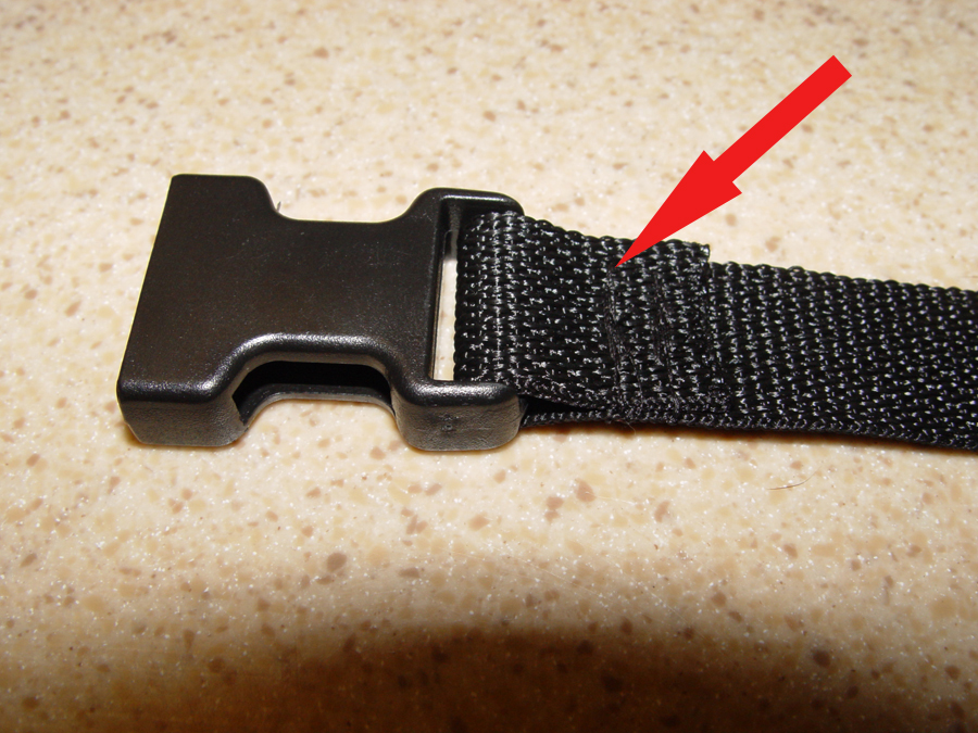 Picture of Step 2: Secure the Buckle.
