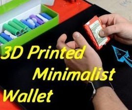 3D Printed Minimalist Wallet