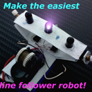 Garbage Line Follower Robot!