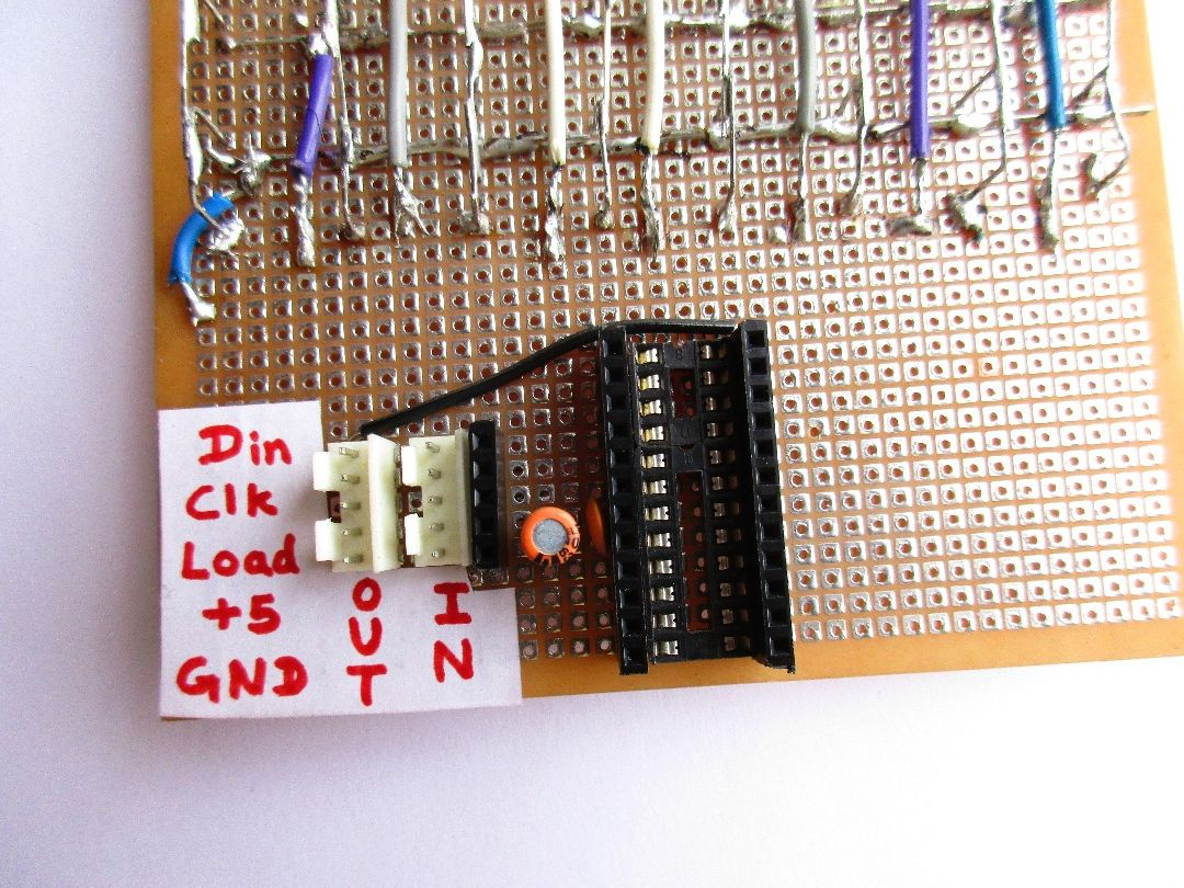 Picture of LED Matrix Circuit of MAX7219