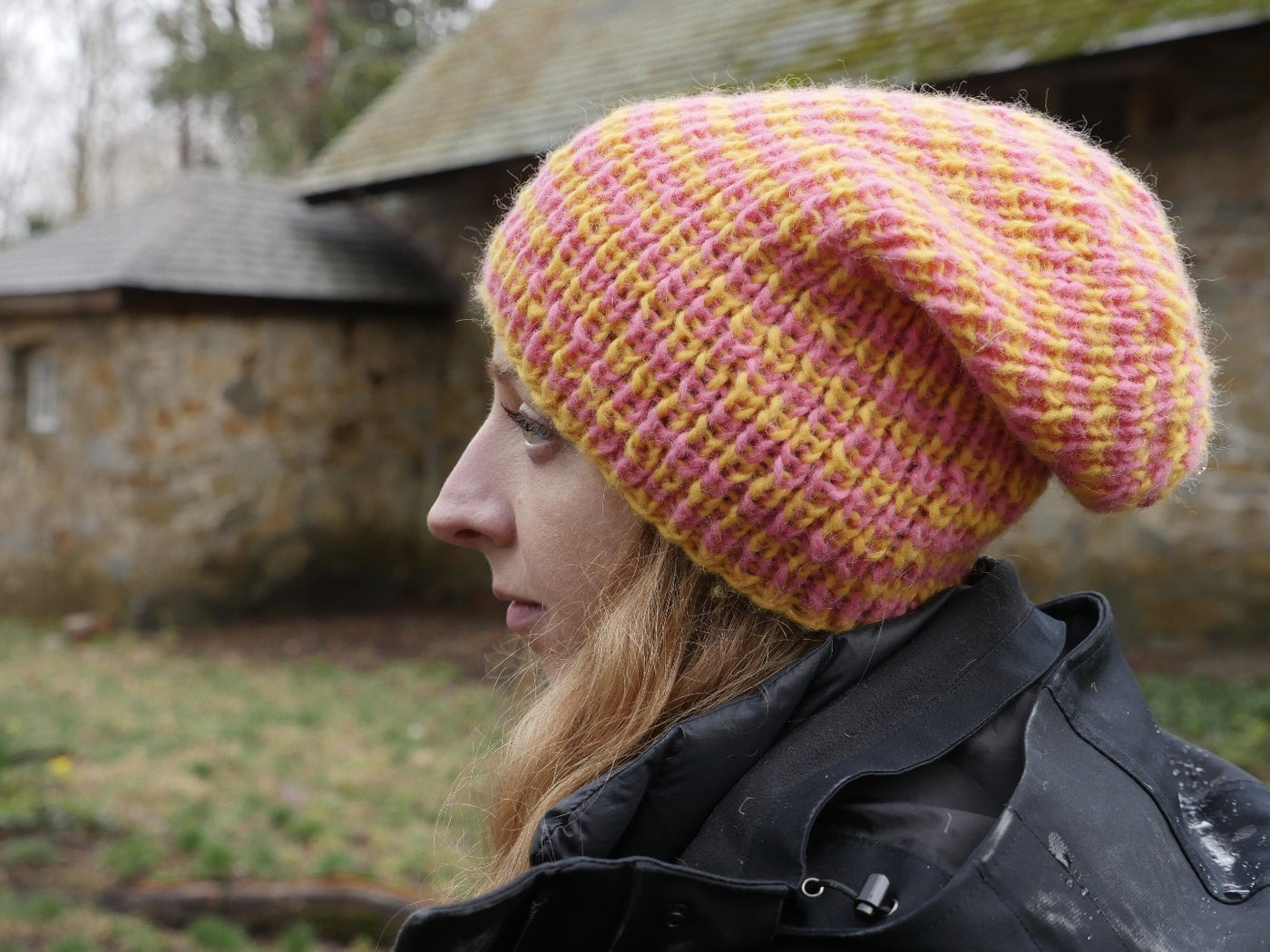 First Hat: Knitting in the Round