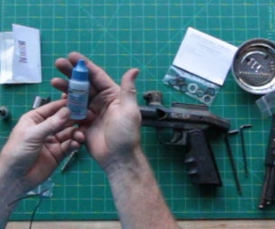 Replace the Valve Seat O-Ring in a Paintball Marker