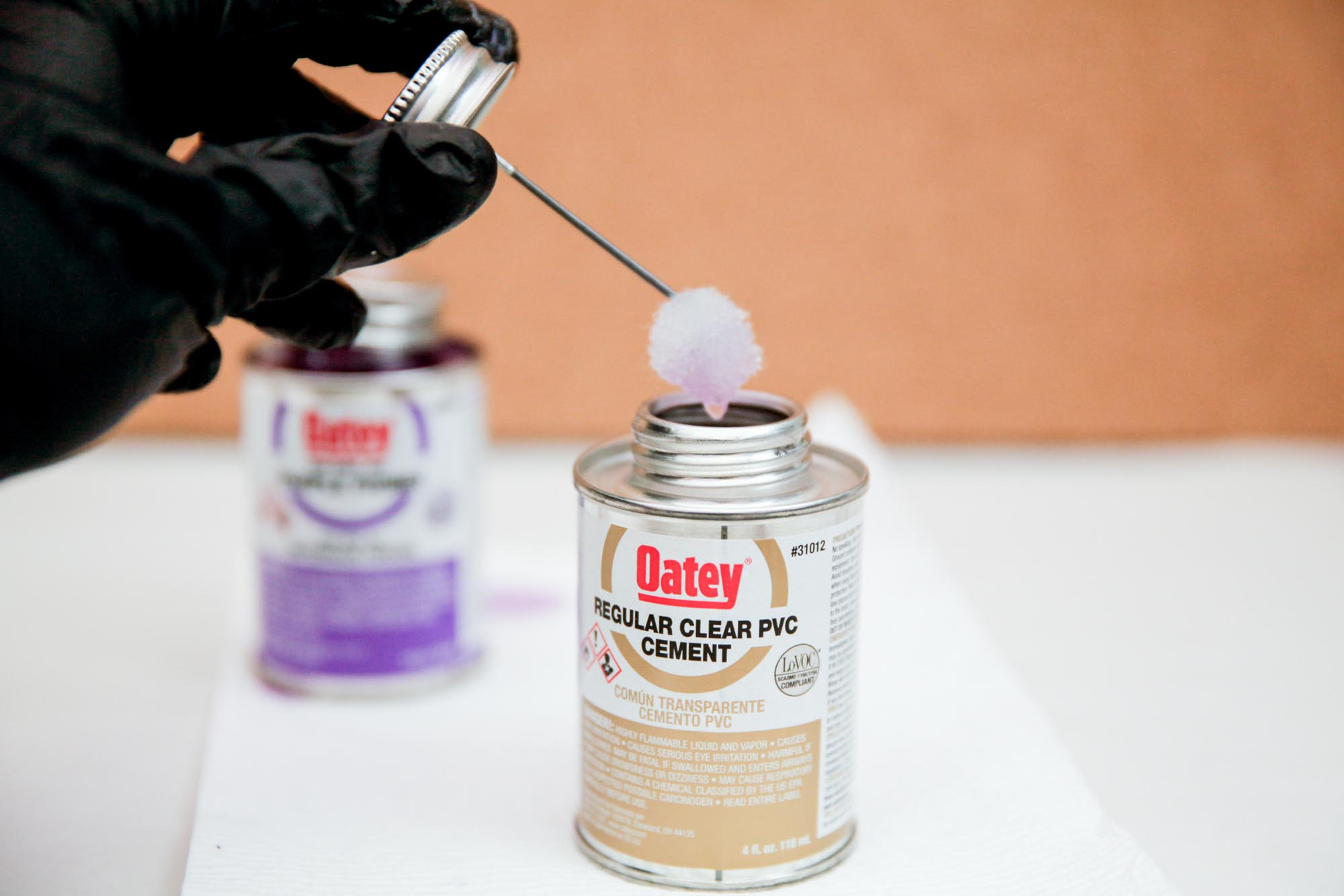 Picture of Gluing and Fastening PVC