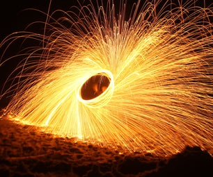 The Ring of Fire: a Cheap Steel Wool Pyrotechnic Display