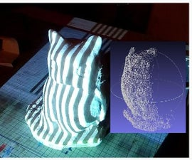 DIY 3D scanner based on structured light and stereo vision in Python language