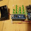 Binary_Clock by arduino nano