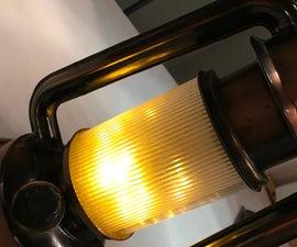 Lantern Conversion to Flicker Flame