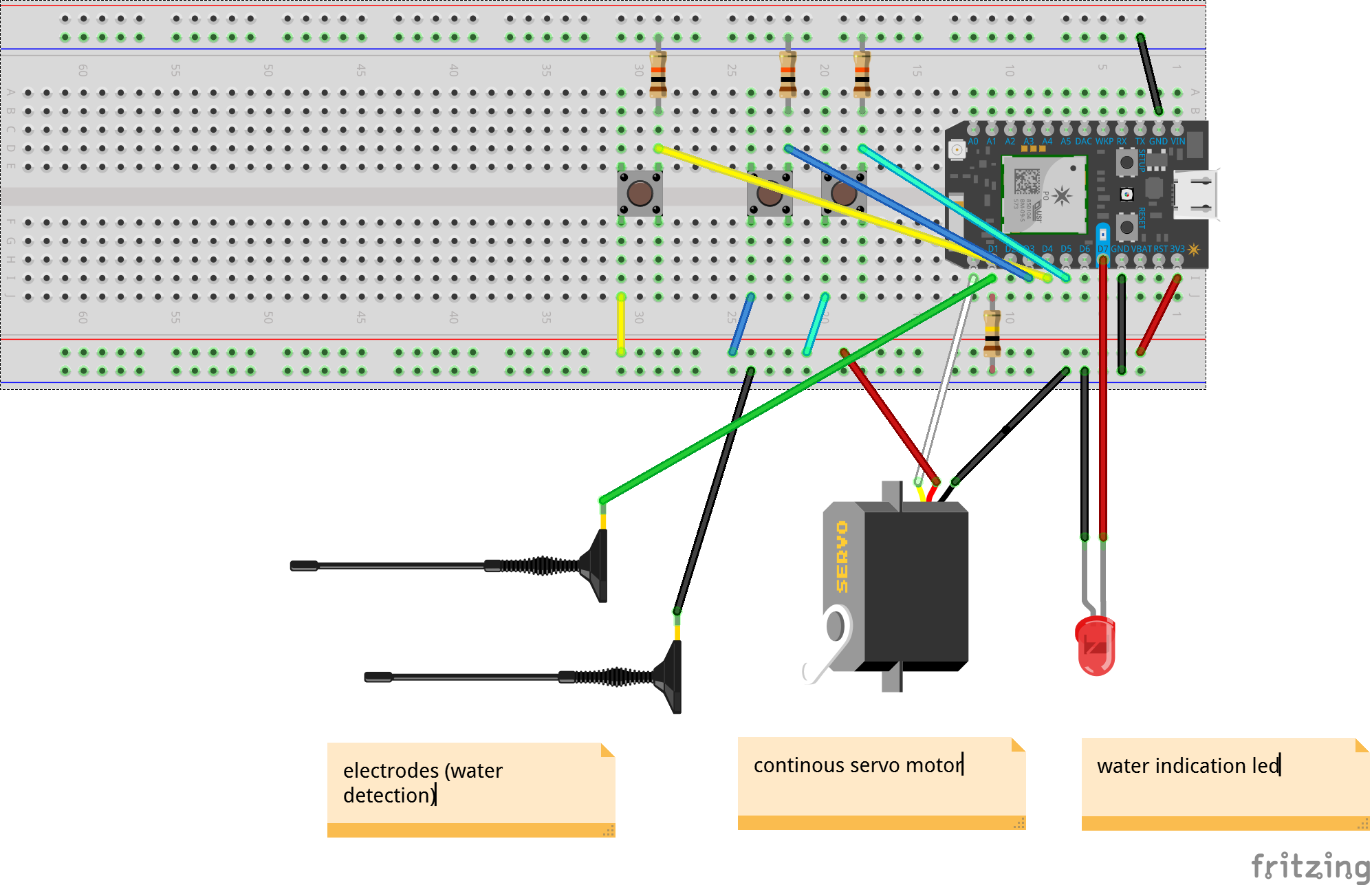 Picture of Electronic Setup