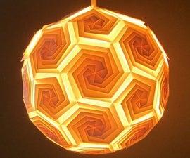 DIY Lampshade (icosahedron)