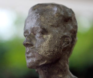 Your Head Cast in Metal - Photogrammetry > 3D Printing > Metal Casting
