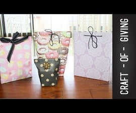 Quick and Easy DIY Gift Pouches | Craft of Giving