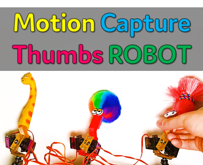 Picture of [Arduino Robot] How to Make a Motion Capture Robot | Thumbs Robot | Servo Motor | Source Code