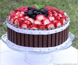 Kit Kat fruit cake
