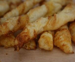 Cheese Cayenne Twist Sticks