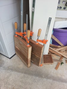 Drill, Dowels and Clamp Boards
