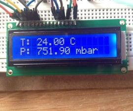 Lectura BMP180 Con El Display En Arduino 1