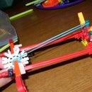 My First Instructable- Knex Gun.