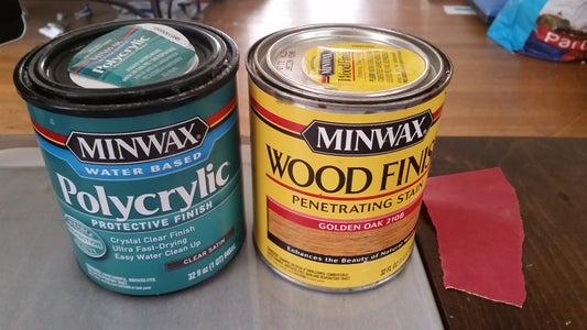 Stain and Finish Wood