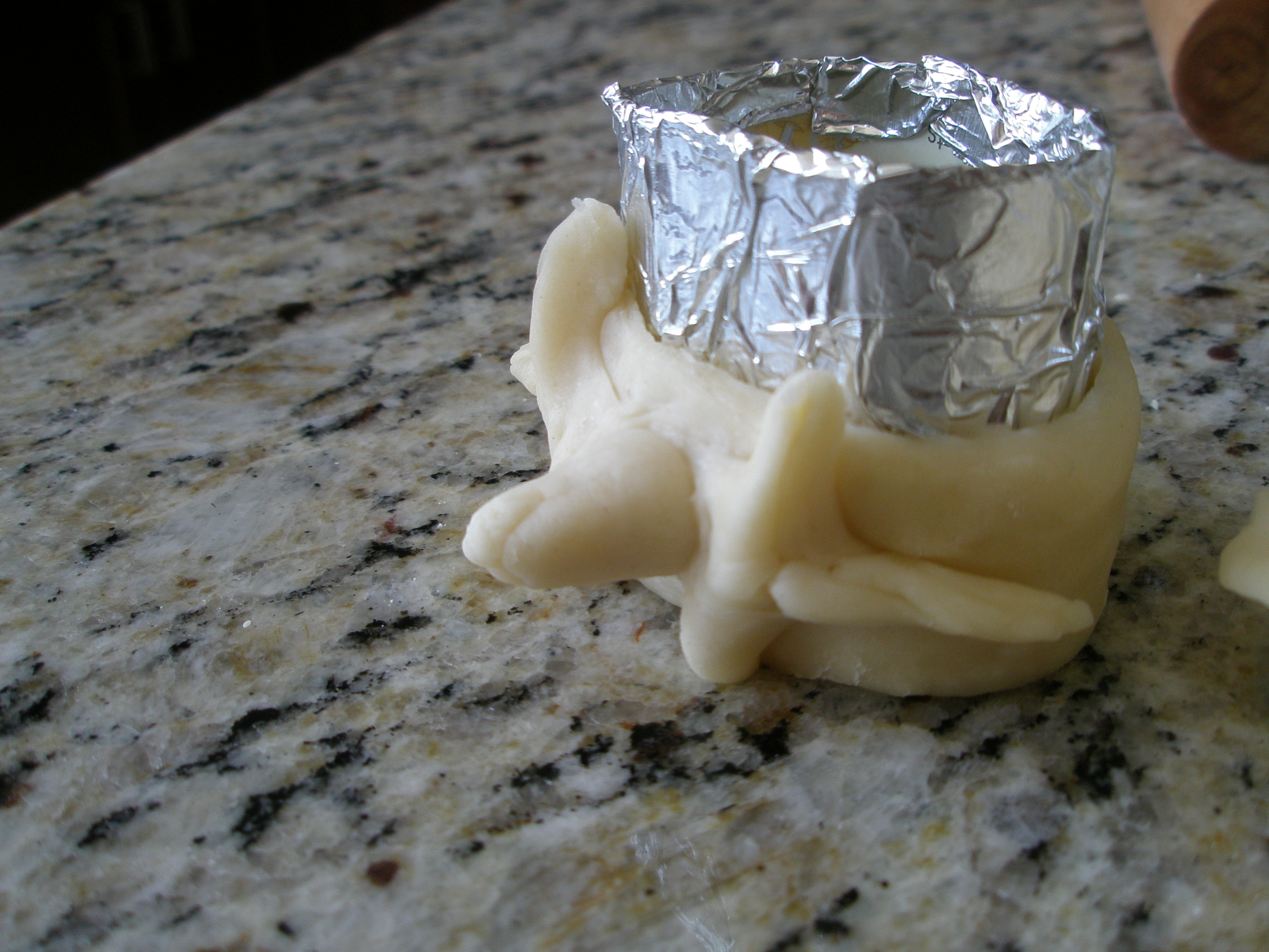 Picture of Making the Crackers - Making the Vertebrae Look Like Vertebrae (cont.)