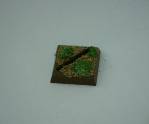 Warhammer Models: Base Plate