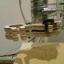 CNC Vacuum Hose Mount
