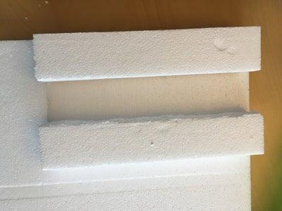 Creating the Styrofoam Base
