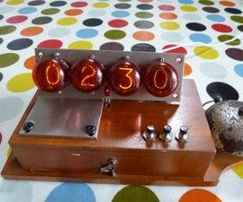 Vintage Nixie Alarm Clock