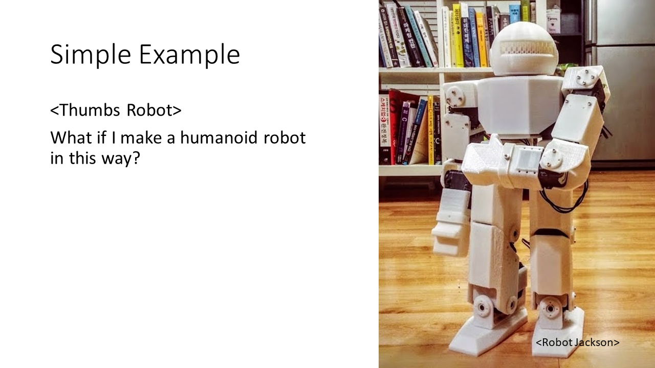 Picture of Motion Capturing for a Humanoid Robot