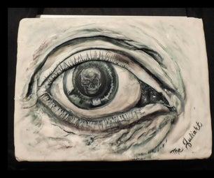 M.C. Escher Eye Cake