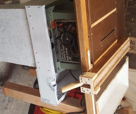Delta Jobsite Table Saw Cart and Upgrades