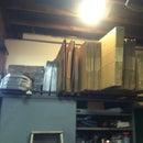 Cardboard Box Organizing Rack