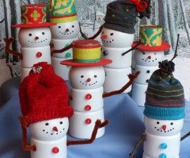 Boost® Bottle Snowmen