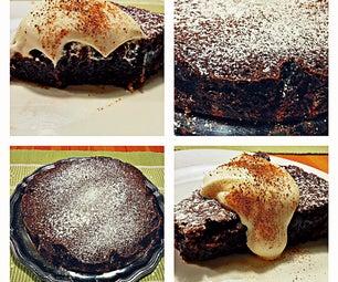 Swedish Chocolate Mud Cake/ Kladdkaka
