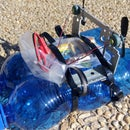 UChip – RC Boat Out of Plastic Bottles and CD-ROM Player!
