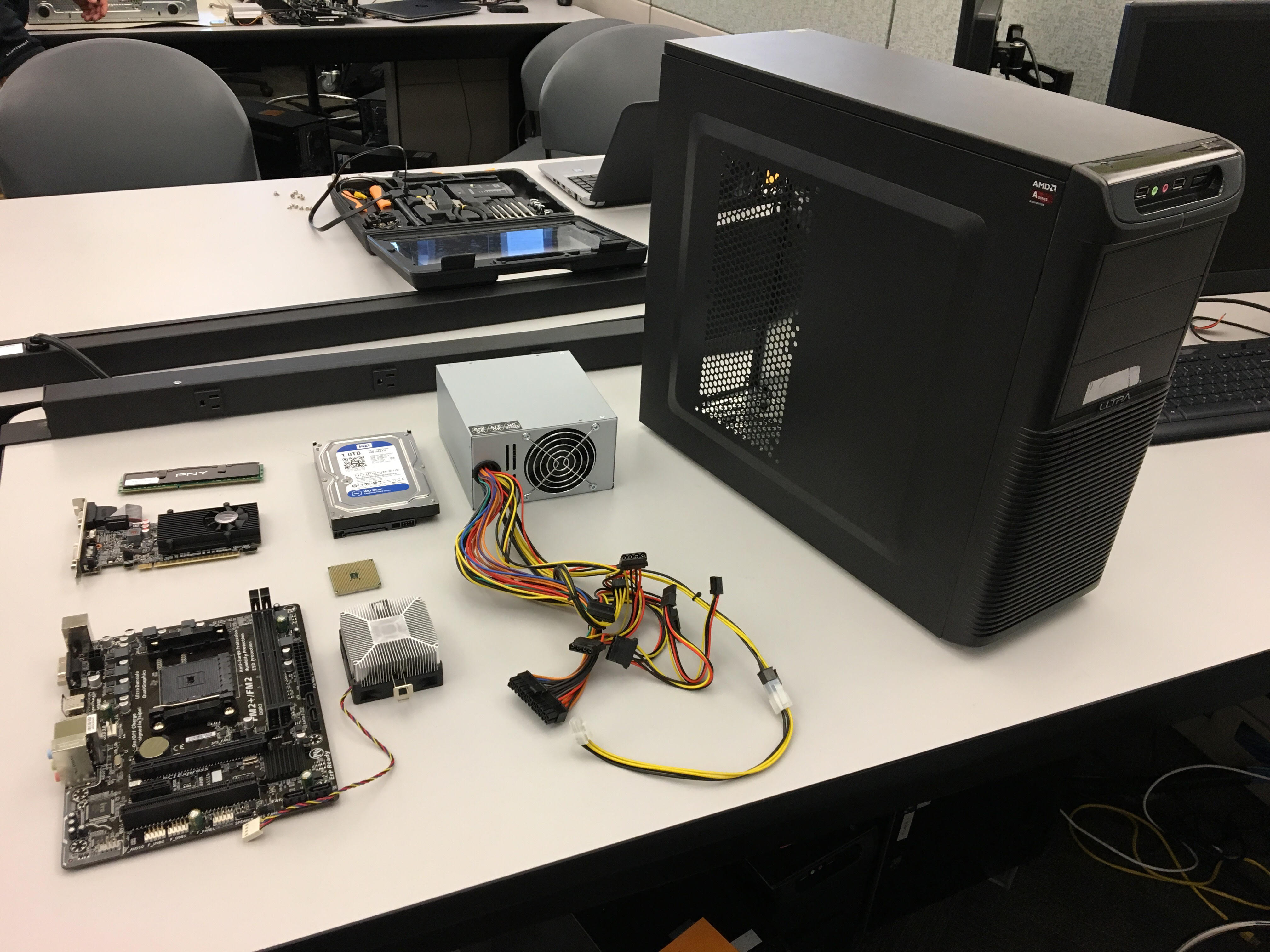Picture of Computer Build 1 KCTC 2nd Session